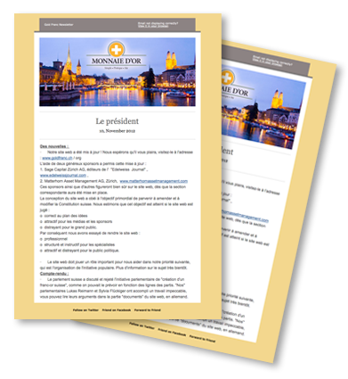 french newsletters